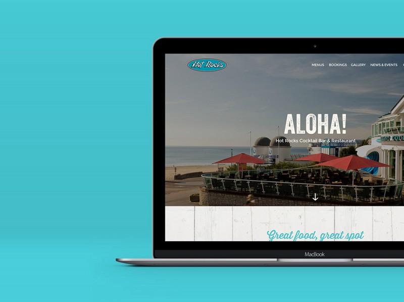 Hot Rocks website launch with creative agency Salad Creative